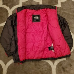 Other - North Face kids. Grey and pink!